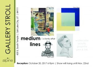 art exhibit flyer