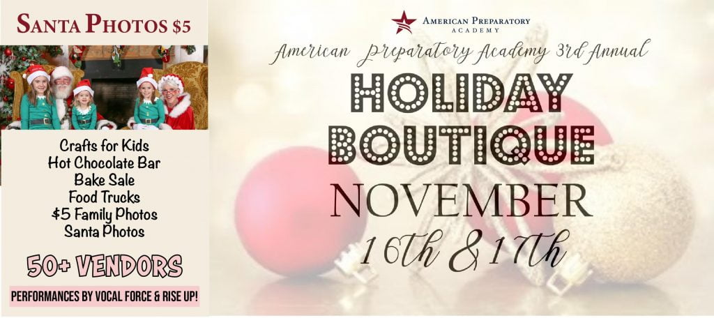2018 Holiday Boutique Web Slider