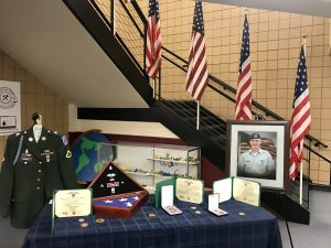 Fallen soldier display
